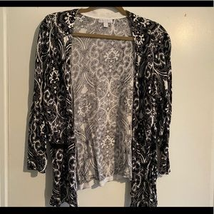 New York & Company cardigan/wrap sweater